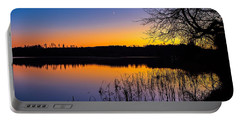 Portable Battery Charger featuring the photograph Peaceful Evening by Rose-Maries Pictures