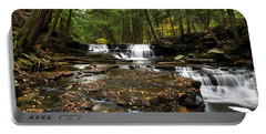 Peaceful Flowing Falls Portable Battery Charger