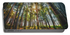 Peaceful Forest 5 - Spring At Retzer Nature Center Portable Battery Charger by Jennifer Rondinelli Reilly - Fine Art Photography