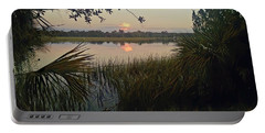 Peaceful Palmettos Portable Battery Charger