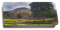 Peaceful Retreat - Melrose Abbey  Portable Battery Charger
