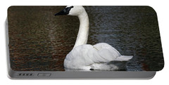 Peaceful Swan Portable Battery Charger
