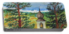 Peaceful Valley Bell Tower Portable Battery Charger