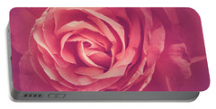 Blooms And Petals Portable Battery Charger