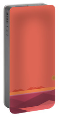 Peach Dawn - Vertical Portable Battery Charger