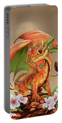 Peach Dragon Portable Battery Charger