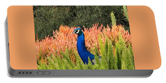 Peacock Blues Portable Battery Charger