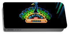 Peacock Diner In The Loop Portable Battery Charger