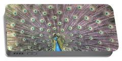 Peacock Splendor Portable Battery Charger