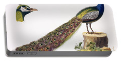 Peafowl Portable Battery Charger