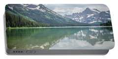 Peaks At Lake Josephine Portable Battery Charger