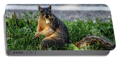 Portable Battery Charger featuring the photograph Peanut by Joann Copeland-Paul