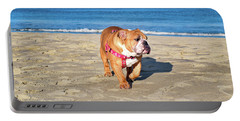 Peanut On The Beach Portable Battery Charger
