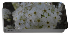 Pear Blossoms Portable Battery Charger