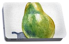 Pear Portable Battery Charger by Irina Sztukowski