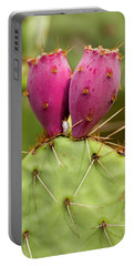 Portable Battery Charger featuring the photograph Pear O Fruit V07 by Mark Myhaver