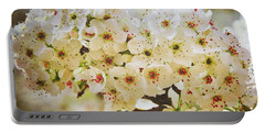 Pear Tree Blossoms   Portable Battery Charger