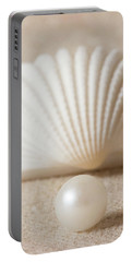 Pearl And Shell Portable Battery Charger