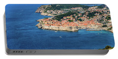 Pearl Of The Adriatic, Dubrovnik, Known As Kings Landing In Game Of Thrones, Dubrovnik, Croatia Portable Battery Charger