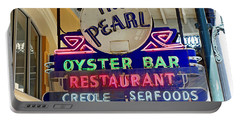 Pearl Oyster Bar Portable Battery Charger