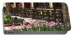 Pearl Street Mall Portable Battery Charger by Colleen Coccia