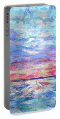 Pearly Sunset Portable Battery Charger