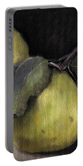 Pears Stilllife Painting Portable Battery Charger