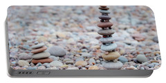 Pebble Stack II Portable Battery Charger by Helen Northcott