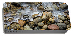 Pebbles And Ice Portable Battery Charger