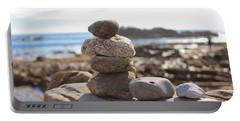 Peceful Zen Rocks Portable Battery Charger