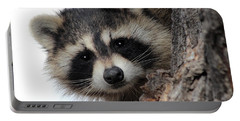 Portable Battery Charger featuring the photograph Peek-a-boo by Shane Bechler