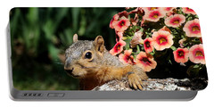 Peek-a-boo Squirrel Portable Battery Charger