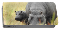 Portable Battery Charger featuring the photograph Peek by Betty-Anne McDonald