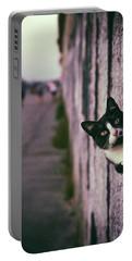 Peeking Cat Portable Battery Charger