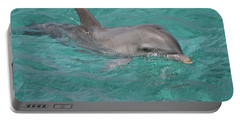Peeking Dolphin Portable Battery Charger