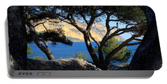 Peeping Through Pines Portable Battery Charger