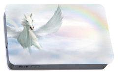 Pegasus Portable Battery Charger by John Edwards