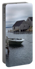 Portable Battery Charger featuring the photograph Peggys Cove Canada by Richard Bryce and Family
