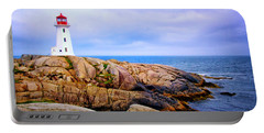 Peggys Cove Lighthouse Portable Battery Charger