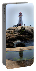 Peggys Light House Relfection  Portable Battery Charger