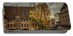 Pegnitz, Nuremberg, Germany Portable Battery Charger by Jim Pavelle