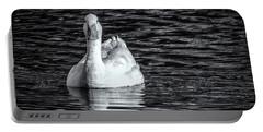 Pekin Duck Monochrome Portable Battery Charger