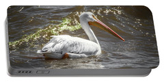 Portable Battery Charger featuring the photograph Pelican Profile by Ray Congrove