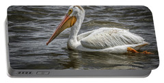 Portable Battery Charger featuring the photograph Pelican  by Ray Congrove
