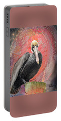 Pelican With Red Portable Battery Charger