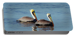 Pelicans 2 Together Portable Battery Charger