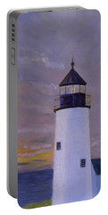 Pemaquid Light Morning Light Portable Battery Charger