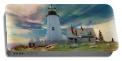 Pemaquid Lighthouse,maine Portable Battery Charger