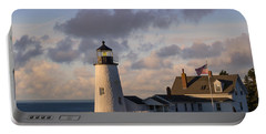 Pemaquid Morning Portable Battery Charger