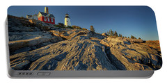 Pemaquid Point Portable Battery Charger by Rick Berk